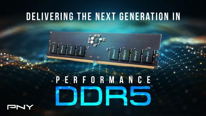 PNY宣布DDR5-4800台式内存模组 2021年4季度上市