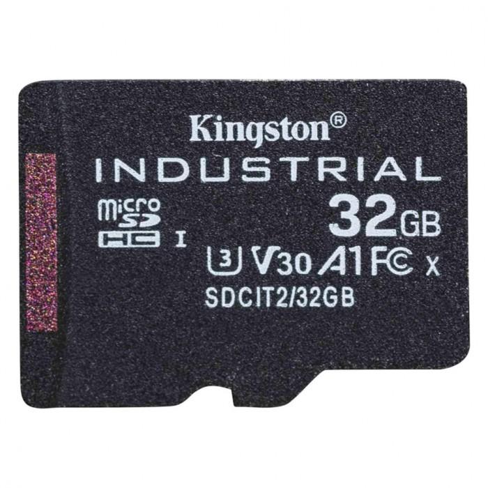 金士顿发布Industrial工业级耐用microSD卡