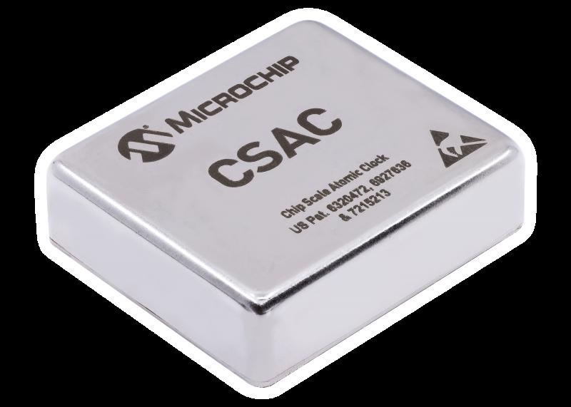 Microchip推出新型芯片级原子钟(CSAC), 可在极端环境下提供更大的工作温度范围