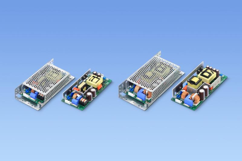 科索推出用于工业应用的具有200% 峰值功率的自由空气对流冷却开放式框架电源