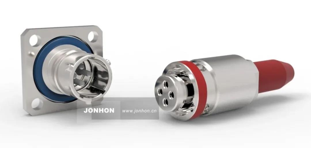 JYSV小型高抗振卡口型多芯光纤连接器