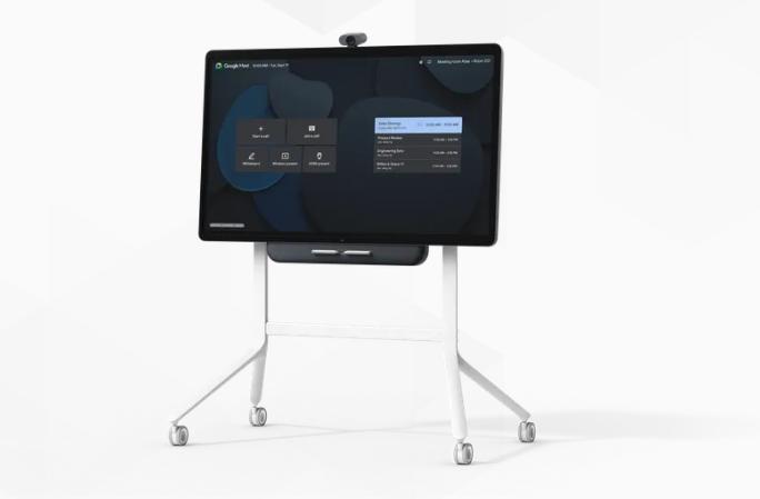 谷歌推出面向Google Meet的视频会议硬件与互动显示器