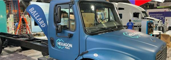 巴拉德与Hexagon Purus将合作开发六级燃料电池卡车