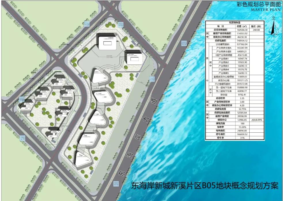 立讯全球电子信息产业中心基地项目!就在东海岸新溪片区!