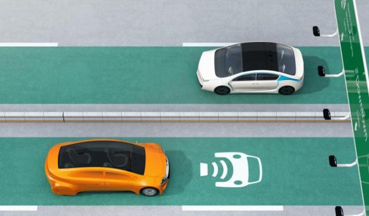 为行驶中的电动汽车进行无线充电