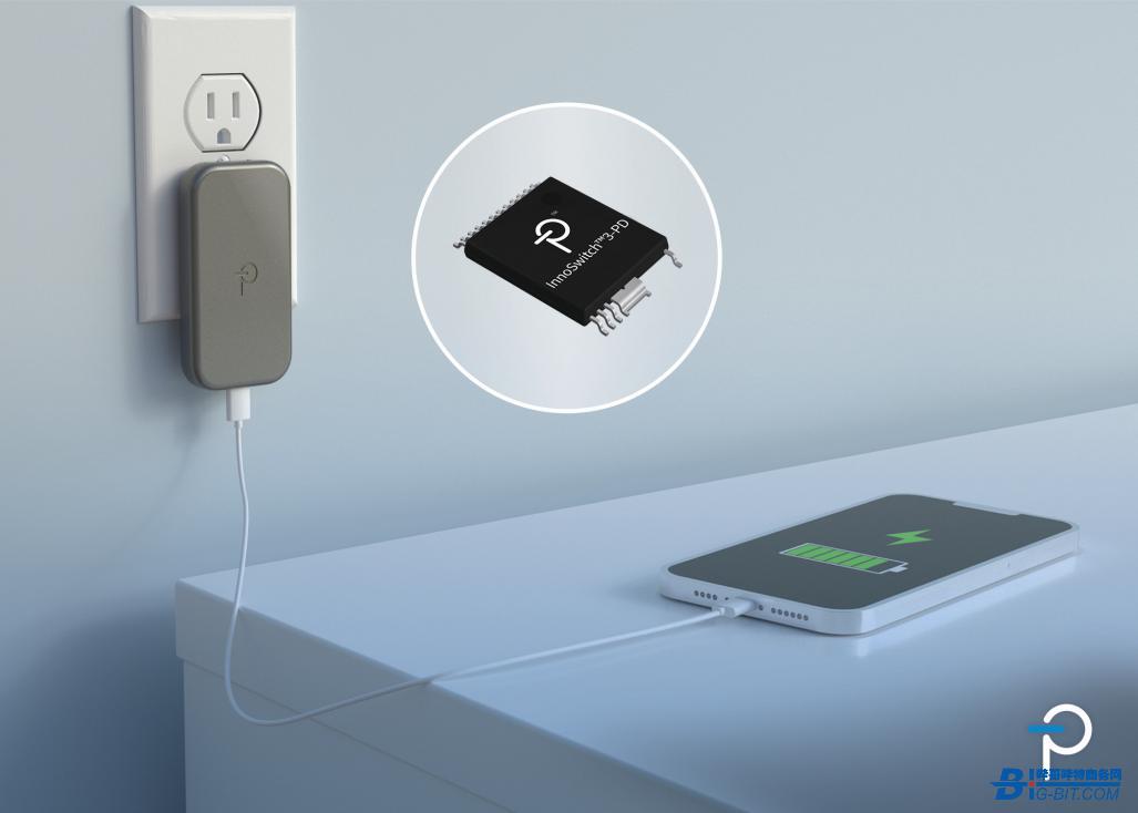 PI推出唯一USB PD单芯片解决方案InnoSwitch™3-PD系列IC