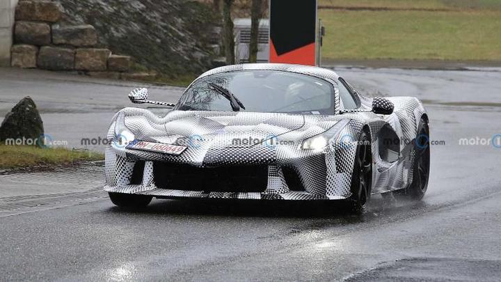 复古范儿 法拉利全新概念车于11月发布