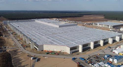特斯拉柏林电池工厂已开始墙壁施工 建成后年产能预计超过100 GWh