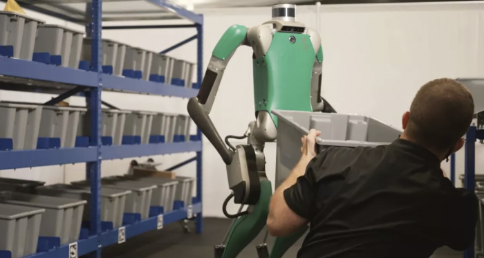 Agility机器人公司推出人形机器人 将在仓库工作