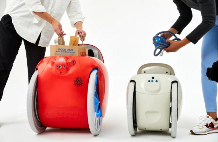 Piaggio子公司推出紧凑型载货机器人Gitamini 可跟随主人行走