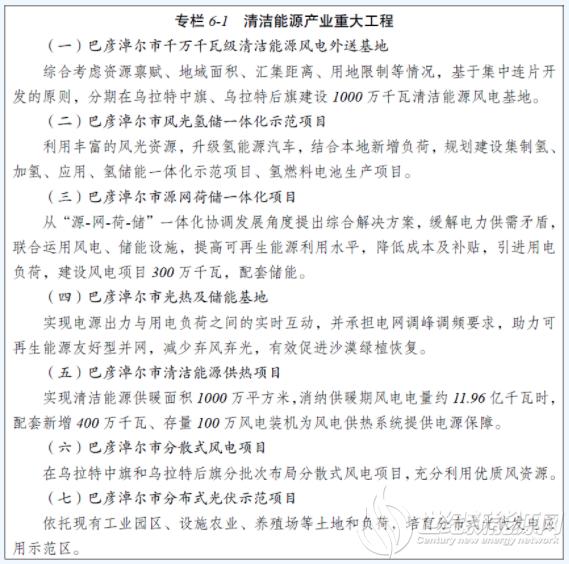"""内蒙古巴彦淖尔市:""""十四五""""将做强光伏光热等新能源产业 推进光热及储能基地"""