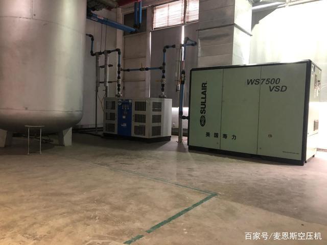 针对这类型空压机 必须对两种电机做好区分
