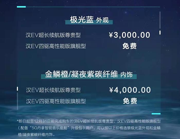 售价25.88-27.95万元 比亚迪汉EV新车型上市