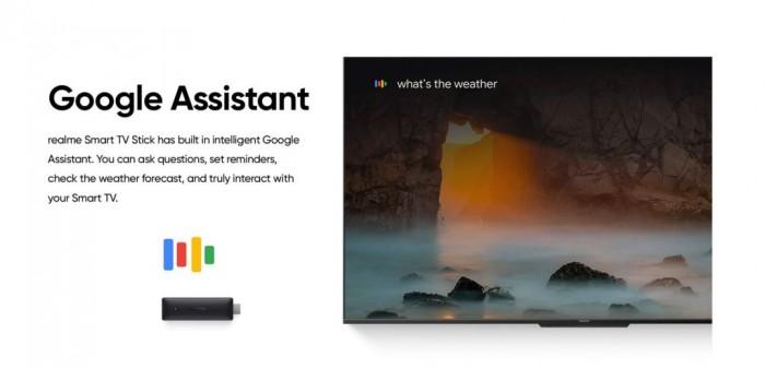 realme即将推出搭载Google TV的智能电视棒