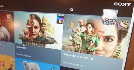 索尼将在印度成为最大广播电视企业