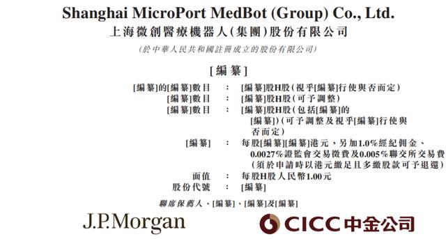 微创医疗机器人:IPO转板港交所,微创系分拆3公司上市后1+1>2?