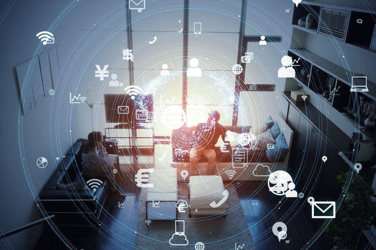 2021年上半年中国智能家居设备市场出货量约1亿台,同比增长13.7%