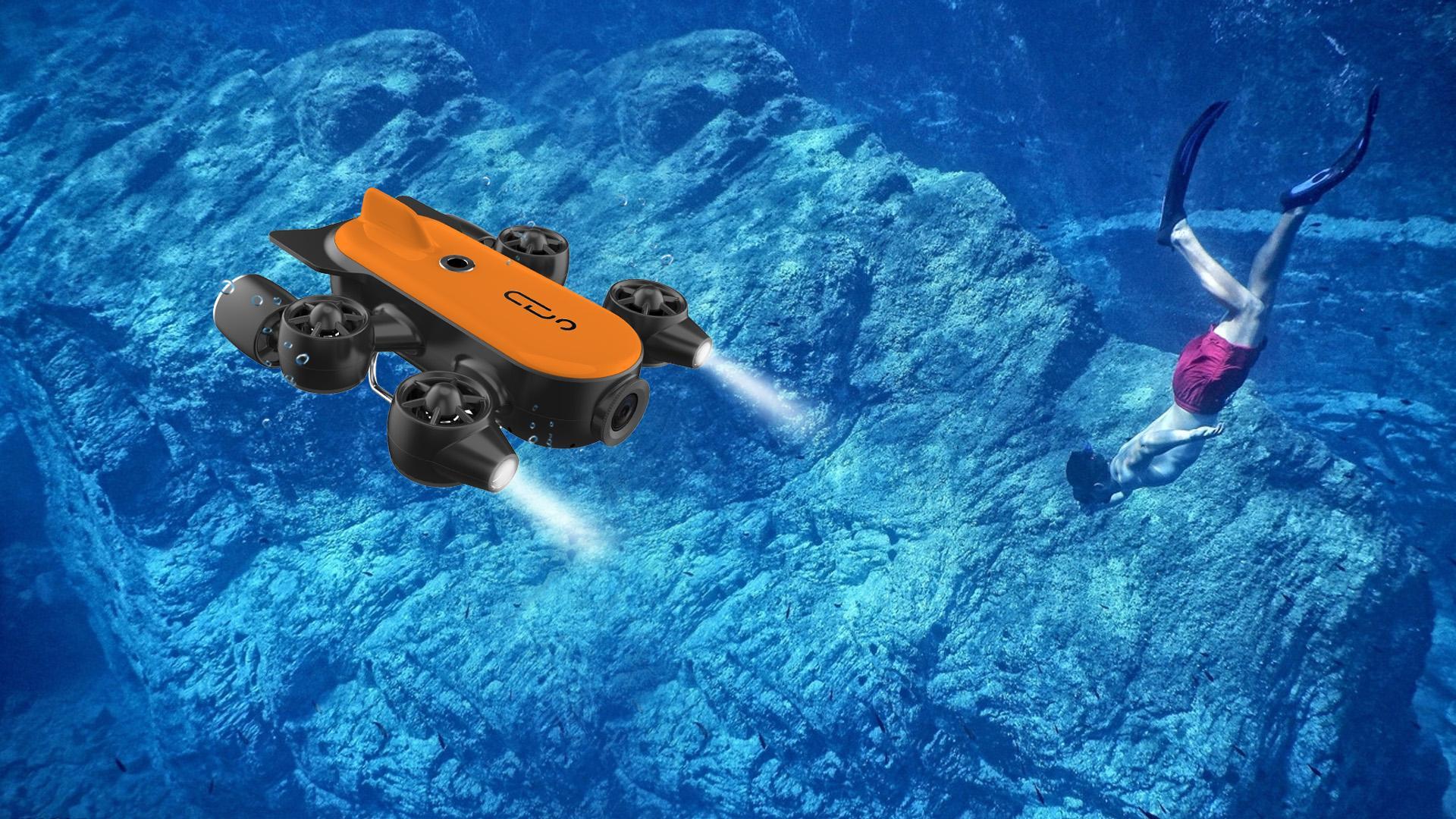 不止于科研,水下机器人消费级应用更具蓝海