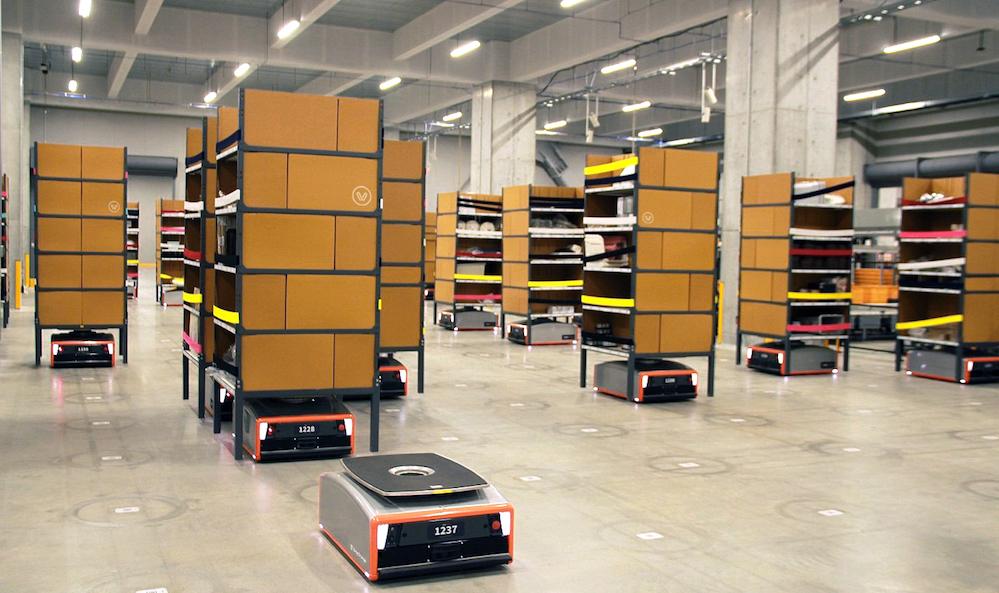"""仓储自动化,MiR自主移动机器人助企业应考""""双十一"""""""