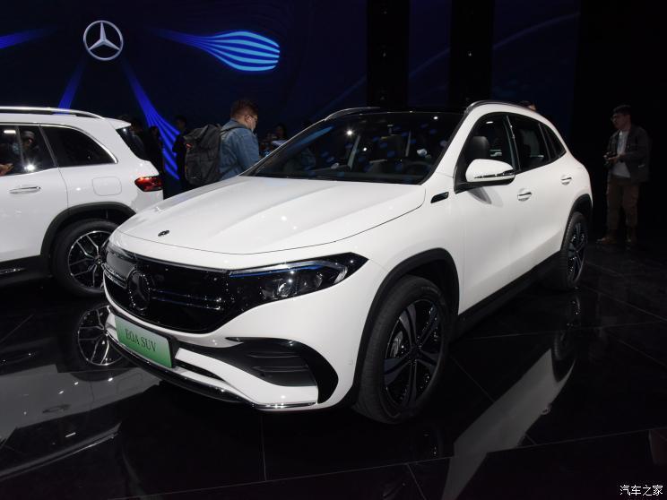 37万元/44万元 奔驰EQA与EQB预售价公布
