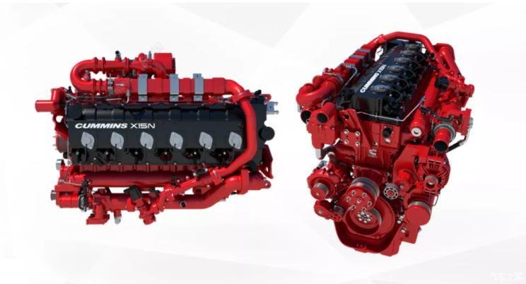 康明斯公司在北美推出15L天然气发动机