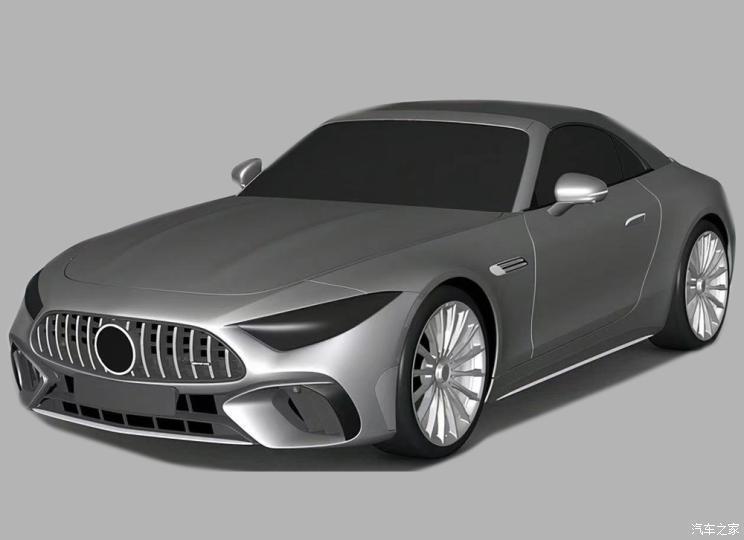 10月28日发布 梅赛德斯-AMG SL专利图
