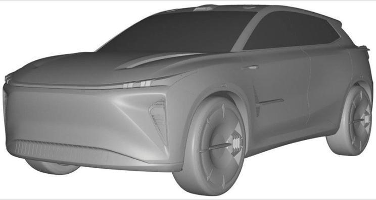 或搭载激光雷达 赛力斯全新SUV专利图