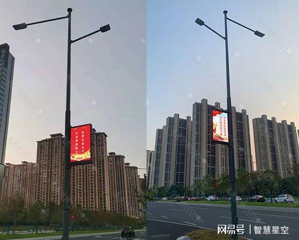 无锡南湖大道完成智慧化升级——LED灯杆屏