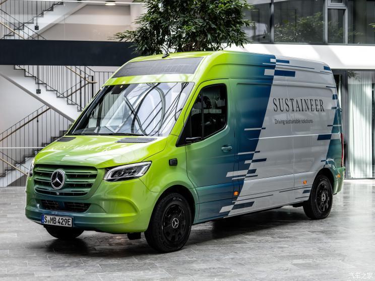 纯电动货车 奔驰Sustaineer概念车官图